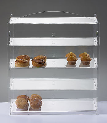 Cake Cupcake Display Stand Cabinet Sandwich Fudge Pastry Snack Display Unit
