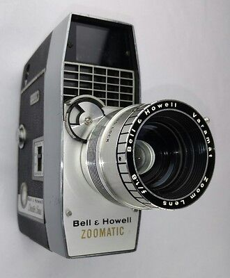 Vintage Bell & Howell Zoomatic Director Series 8mm Movie Camera