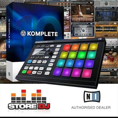 Native Instruments Maschine Mikro MK2 w/ Komplete 11 Upgrade (Black)