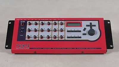 Clavia Nord Modular G1 Expanded Rack virtual analog synthesizer + rack mount kit