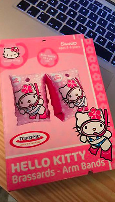 Brassard gonflable Hello Kitty pour la Piscine C31