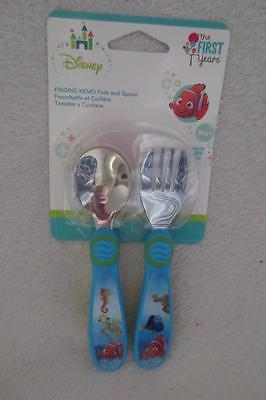 Disney The First Years Finding Nemo Fork and Spoon 9m+ New