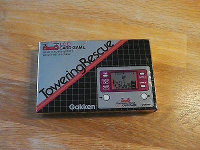 "Lcd game Gakken "" Towering rescue Tremblement de terre ""  game watch"