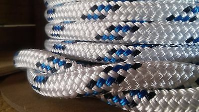 "1/2"" x 100 ft. Double Braid~Yacht Braid polyester rope spools.Valsail Line."