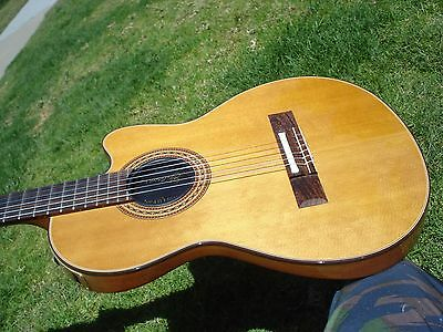 1985 Gibson Chet Atkins CE Acoustic Classical Electric Kalamazoo