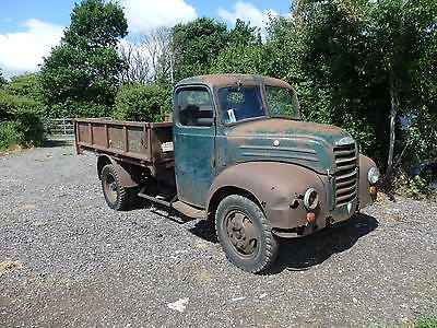 Ford Thames 1960  Tipper  Rare Barn Find