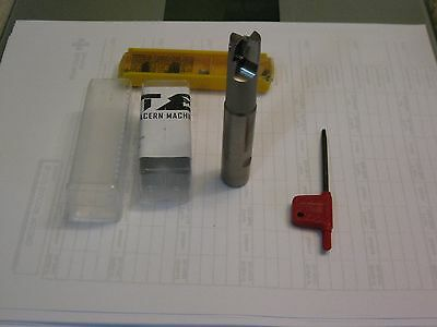 Glacern Machine tools. EM90-625A 5/8 indexable end mill