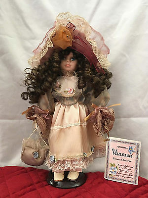 """12"""" Vanessa Ricardi Collection Porcelain Doll New Box 2004"""