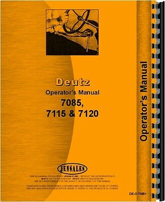 OPERATORS MANUAL FOR Deutz (Allis) D8006 Tractor - $62.99 ... on new holland wiring diagrams, international wiring diagrams, kenworth wiring diagrams, minneapolis moline wiring diagrams, cat wiring diagrams, mahindra wiring diagrams, kubota wiring diagrams, mitsubishi wiring diagrams, massey harris wiring diagrams, gm wiring diagrams, ingersoll rand wiring diagrams, kobelco wiring diagrams, wisconsin wiring diagrams, john deere wiring diagrams, jlg wiring diagrams, hatz diesel wiring diagrams, navistar wiring diagrams, thomas wiring diagrams, detroit diesel wiring diagrams, honda wiring diagrams,