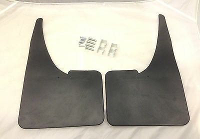 Black Mudflaps Mud Flaps Splash Guards Pair FIAT DUCATO 91-94