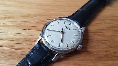 Used 1960's Longines Silver Dial Manual Wind Man's Watch