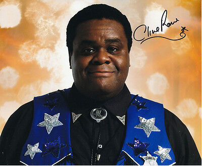 Clive Rowe In Person Signed Photo - Doctor Who - AG429