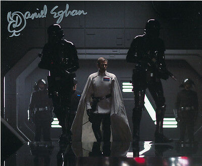 Daniel Eghan In Person Signed Photo - Star Wars - AG411