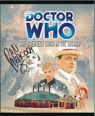 Daniel Peacock In Person Signed Poster Photo - Doctor Who - AG443