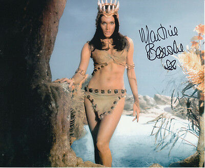 Martine Beswick In Person Signed Photo - Slave Girls - AG449