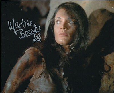 Martine Beswick In Person Signed Photo - Slave Girls - AG486