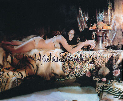 Martine Beswick In Person Signed Photo - Slave Girls - AG490