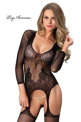 Luxury Long Sleeved Bodystocking. Bodystockings - Rete