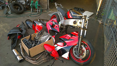 Kawasaki Breaking Spare ZX6R zx 6 r Frame with v5 carb fairing exhaust Airbox