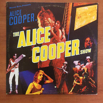 "Alice Cooper ‎– The Alice Cooper Show12"" LP Vinile"