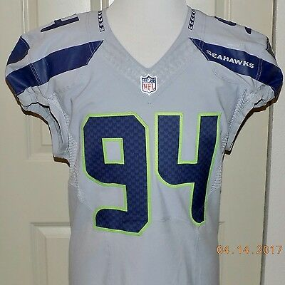 94JUSTIN HAMILTON, COA, Team Issued, ALTERNATE, Repairs, Direct From SEAHAWKS.