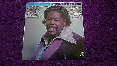 Barry White ‎– Grandes Exitos , Vinyl, LP,  Compilation ,1975 , Spain ,S-32.752