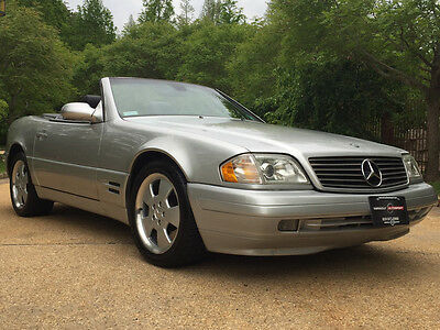 1999 Mercedes-Benz SL-Class  low mile free shipping warranty 1 owner clean carfax luxury convertible sl500