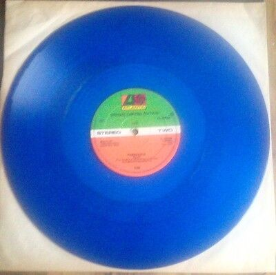 """Yes - Wonderous Stories / Paralles Blue Vinyl Limited Edition 12"""" Single"""