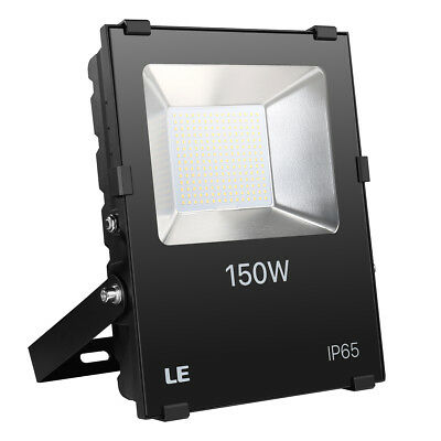 LE 150W LED Flood light industrial lighting security lamp 16500lm daylight white
