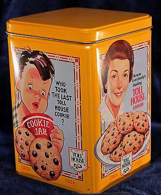 Vintage 1980's Nestle Cookie Tin New Old Stock!