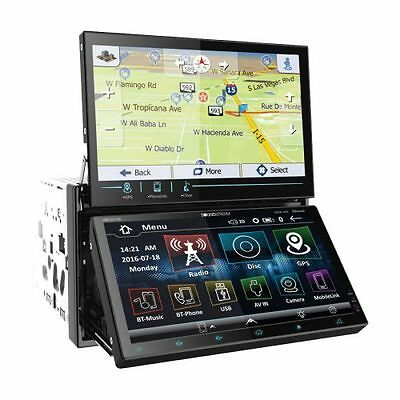 Soundstream VRN-DD7HB DVD/CD Player Dual Touch Screen Bluetooth GPS USB Android