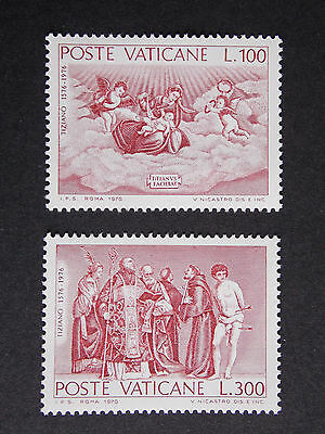 1976 Tizian MNH Stamps from Vatican
