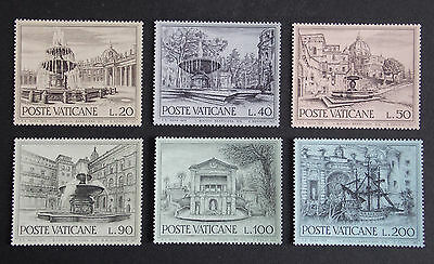1975 Fountains MNH Stamps from Vatican
