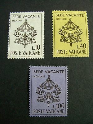 1963 Death of Pope John XXIII MNH Stamps from Vatican