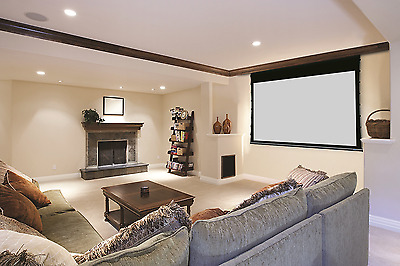 """Stewart Cima 00930-1092H 92"""" 16:9 Motorized Front Projection Screen"""