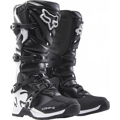 NEW Fox Comp 5 Race Boots Black from Moto Heaven