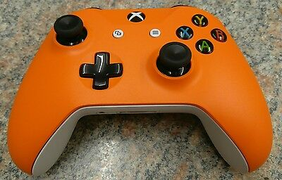 Zest Orange Xbox One S faceplate shell for your controller (Design Lab)