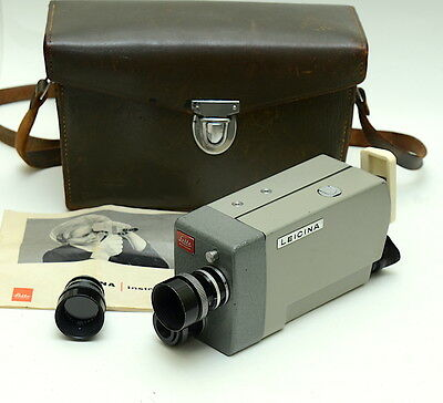 Leitz Leicina 8S 8mm Cine Camera with 9mm f2 Dygon lens