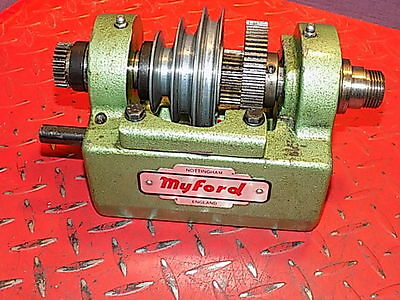 Myford Ml10  Complete Mkl2 Headstock   Assembly Vgc Engineering Lathe