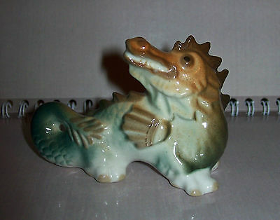 Vintage USSR 1970-1980 LFZ Lomonosov factory Porcelain Figurine DRAGON Original