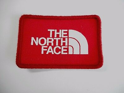 1x North Face Logo Patch Embroidered Cloth Patches Applique Badge Sew On
