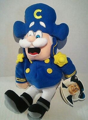 Quaker Oats Collection 2002 Captain Crunch Cereal Bean Bag Plush Cap'n Mascot