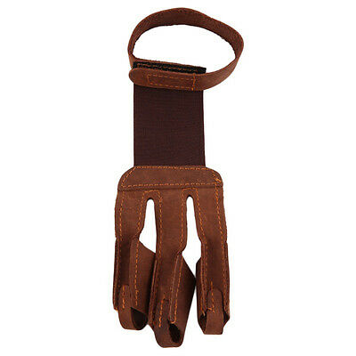 Women Protect Leather Arrow Fingers Bow Fashion Gloves Shooting
