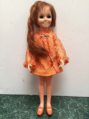 Vintage 1970's Ideal Crissy Doll  With Original Outfit And Shoes!