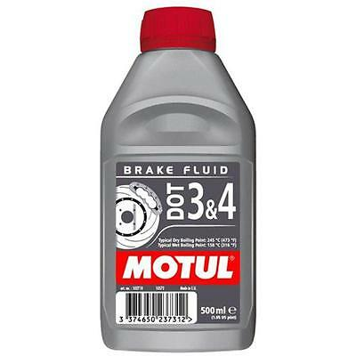 Motul Brake Fluid DOT 3 & 4 0.500L / 500ml