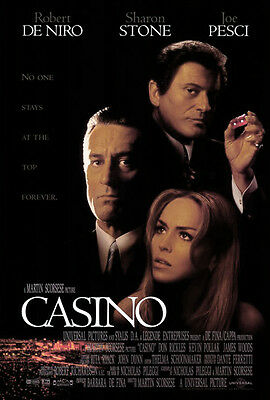 Casino (1995) movie poster reproduction single-sided rolled