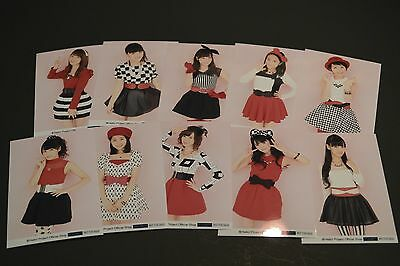 Morning Musume (モーニング娘。)   Photo set L Size #18 Full Set of NFS (Not For Sell)