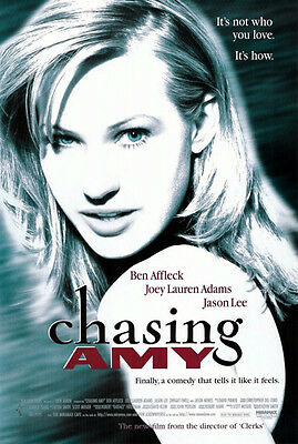Chasing Amy (1997) movie poster reproduction single-sided rolled