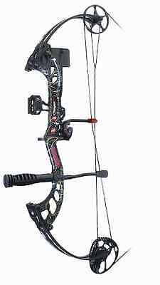 PSE Archery Stinger X 2017 RTS Compound Bow Kit SkullWorks RH 29-70#