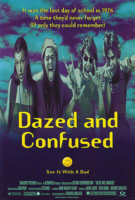 Dazed and Confused (1993) original movie poster single-sided rolled